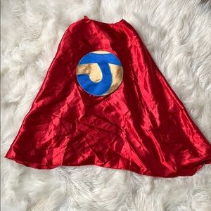 "Great condition Superfly Kids cape with a ""J"""